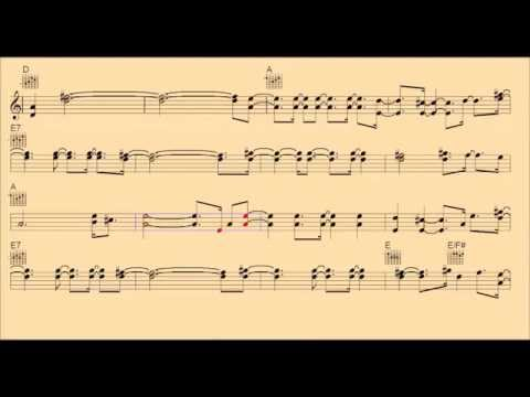 San Antonio Rose-Chords/notes/backing track/lead sheet