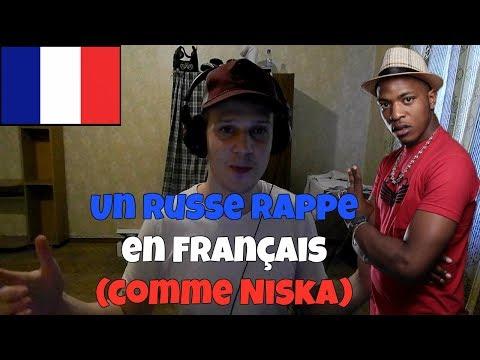 RUSSIAN TRYING TO RAP IN FRENCH (like NISKA)   Un Russe Rappe Sur les Sons de Niska