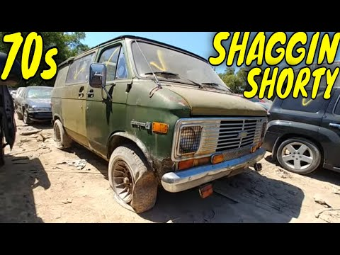 1974 Chevy Short Van 20 Junkyard Find
