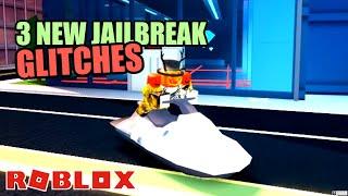 TOP 3 NEWEST Glitches in Jailbreak! Roblox