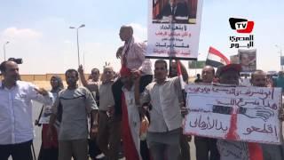 جنازة النائب العام| مظاهرة مؤيدة أثناء تشييع الجثمان: «الإخوان أعداء الله»