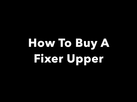 How to buy a fixer upper with a FHA 203k