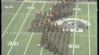 "AGGIE BAND:  Rice Drill 1989 - ""Attack of the Owl"""