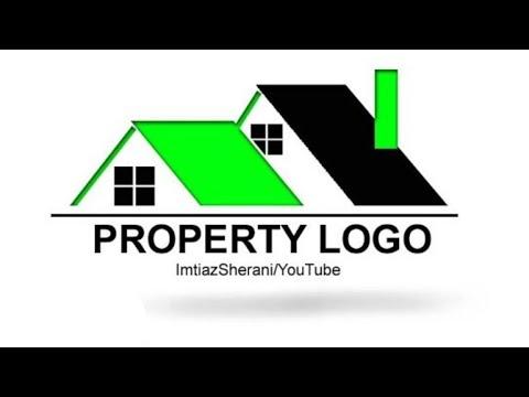 How to design a logo in photoshop Logo Design Tutorial Real_Estate Logo Design thumbnail
