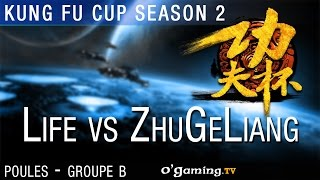 Life vs ZhuGeLiang - Kung Fu Cup S2 - Ro16 Groupe B Match 2 - 15/10/15