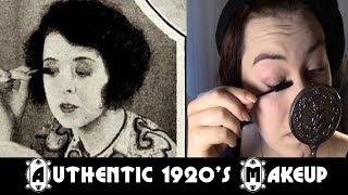 Authentic 1922 Makeup Application