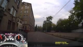 за рулем audi a6 c7 3 0 tfsi acceleration 0 100 esp off no launch control dump road