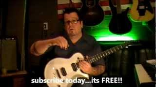 How to play Say What You Will by Fastway on guitar by Mike Gross