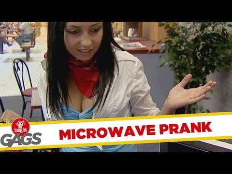 Food Disappears in Microwave - Throwback Thursday