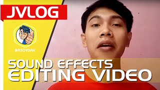 Sound Effect Untuk Editing Video | JVLOG