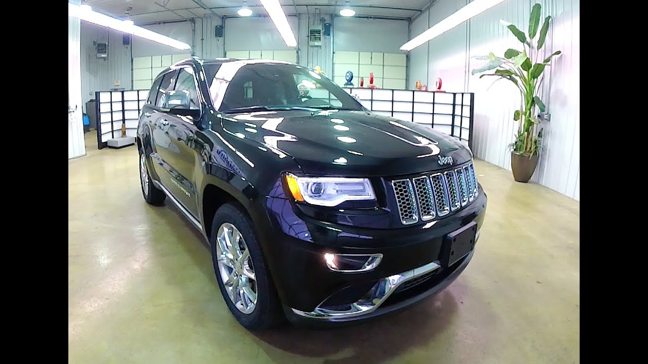 2015 jeep grand cherokee summit 17728 youtube. Black Bedroom Furniture Sets. Home Design Ideas