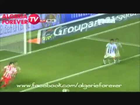Premier but de Sofiane Feghouli avec Almeria (28 fev 2011)