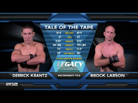 Fight of the Week: Derrick Krantz Gets the Upset & the Belt at Legacy 43
