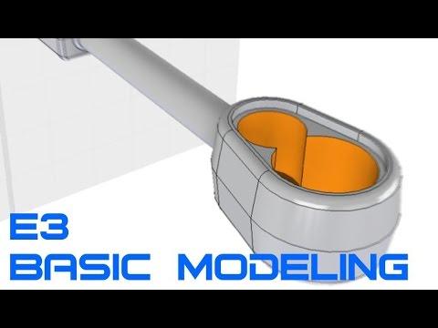 E3 Autodesk Inventor Professional 2016 - Basic Modeling 3 Tutorial