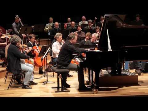Mozart - Concerto pour piano n° 24 - Lars Vogt (répétition)