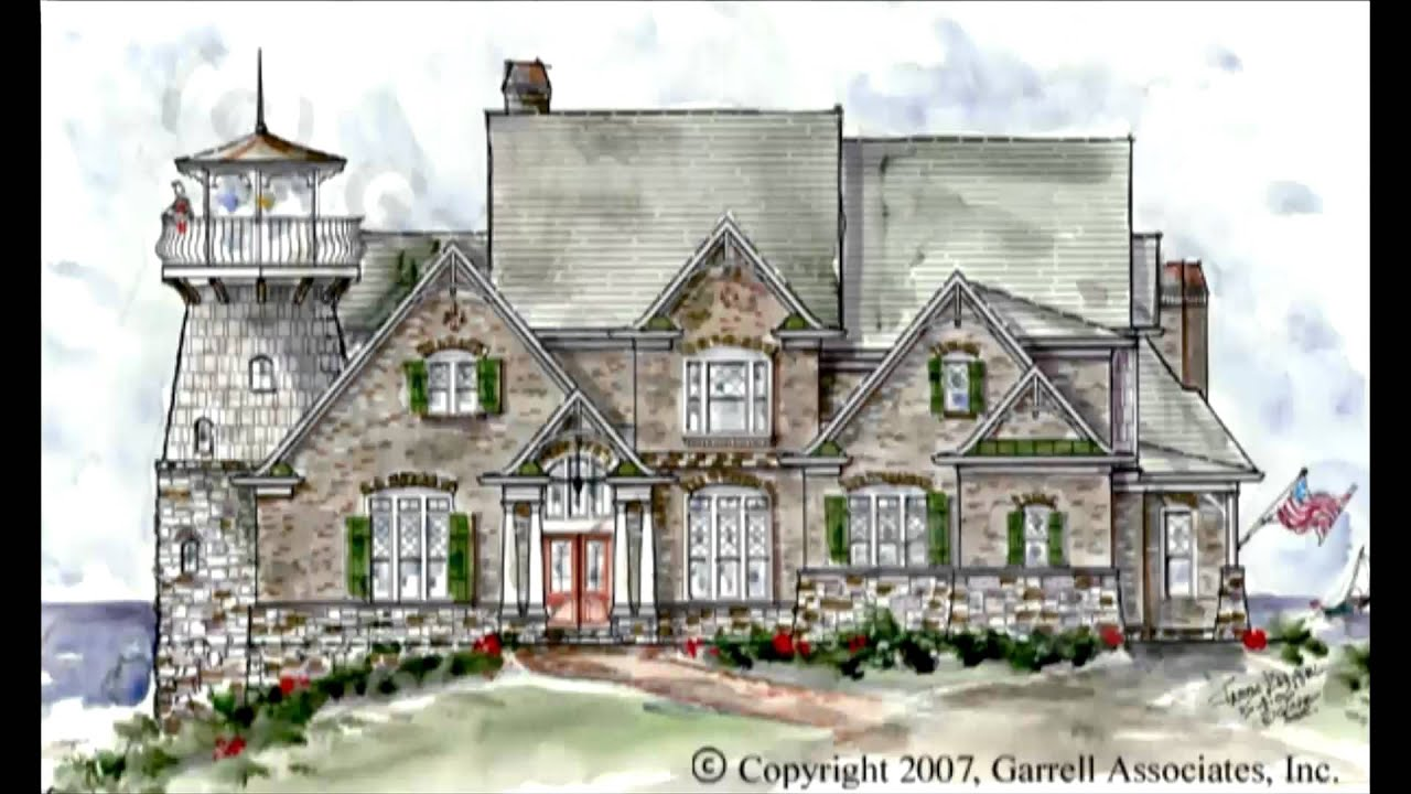 COASTAL BEACH HOUSE PLANS BY GARRELL ASSOCIATES INC MICHAEL W