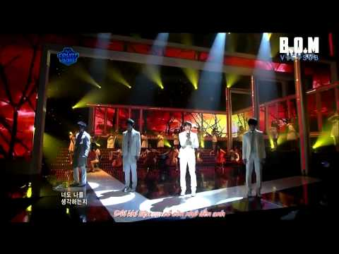 Vietsub b o m without you 280711 debut stage