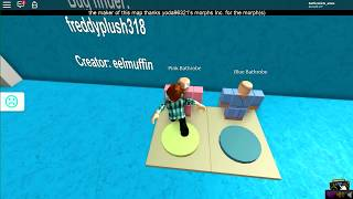 ROBLOX-We TAKE a BATH IN a SPA!!