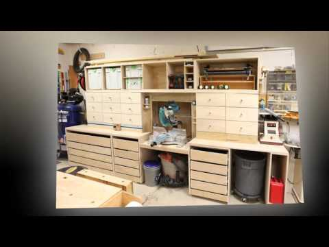 Miter Saw Station Finished  YouTube