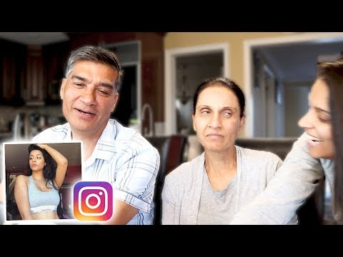 Thumbnail: The Time My Real Parents React To My Instagram Pictures (Day 944)