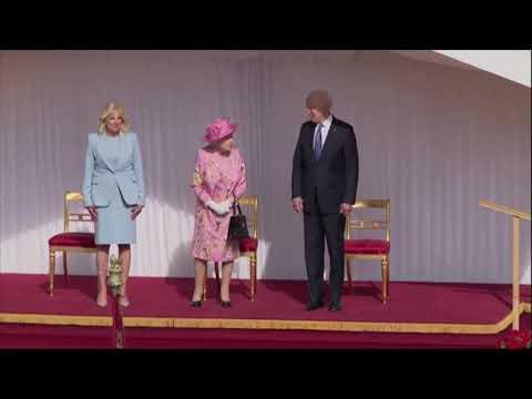 President Joe Biden visits Queen Elizabeth II at Windsor Castle