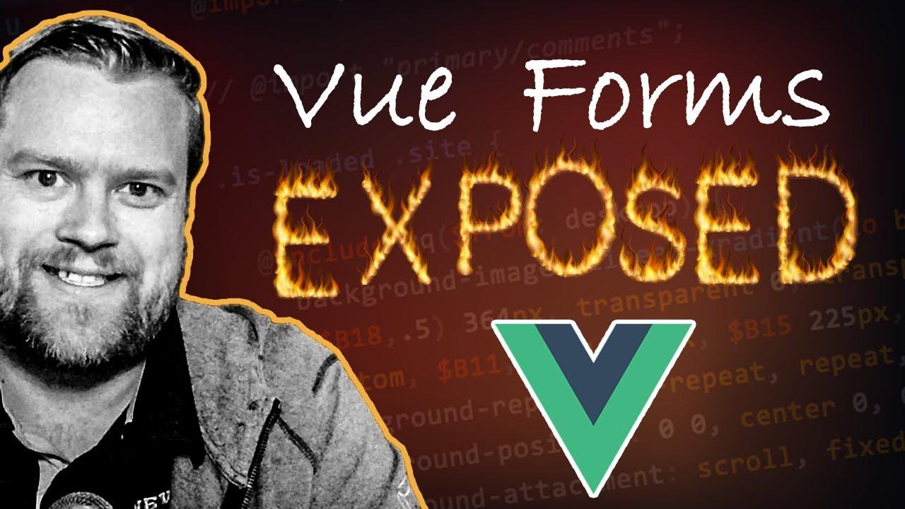Why I Don't Use v-model In Forms in Vue.js | Form Tips