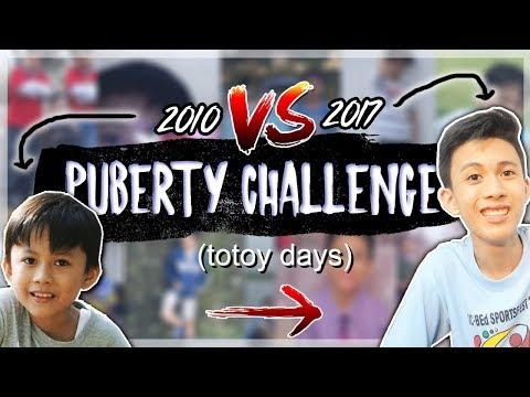PUBERTY CHALLENGE!!   Aljedii