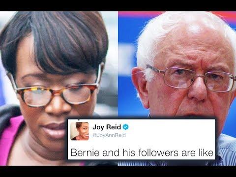 Joy Reid Lies About Bernie's… Marriage?