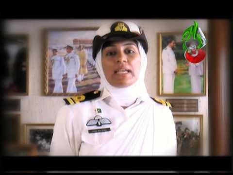 """ Pakistan..AAJ Key Din Hum Tuj Say Ye Wada Karty Hain "" Lady Pilot"