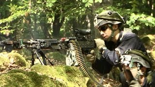 HOHENFELS, GERMANY!  Enemy Infantry Tactics During Exercise Combined Resolve 2!
