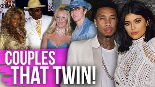 8 HILARIOUS Times Celebrity Couples TWINNED! (Dirty Laundry)
