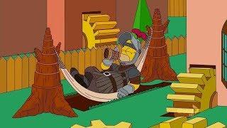 Симпсоны в стиле Game of Thrones - Заставка сериала | 20th Fox The Simpsons