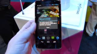 Alcatel One Touch Scribe X hands-on