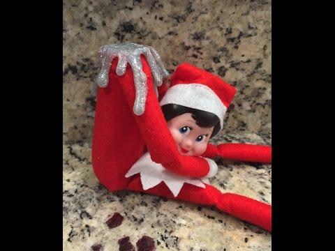 Headless Elf On The Shelf Caught Talking Youtube