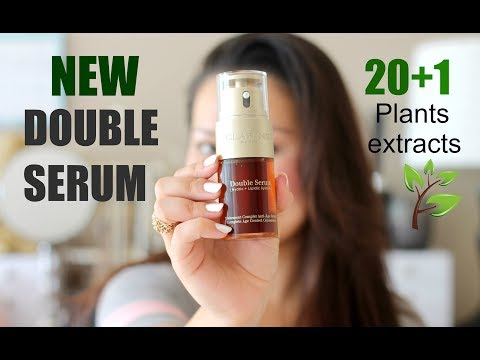 CLARINS DOUBLE SERUM Made My Skin Incredibly Comfortable & Soft | Skincare Specialist Review