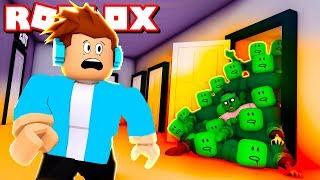 ЖУТКИЙ ХЭЛЛОУИН в мультяшных играх в ROBLOX ! Кид стал зомби в Роблоксе. Прикольные мини игры