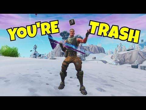 "I ""F"" Emoted On Every Kill In Fortnite... (new Toxic Emote)"