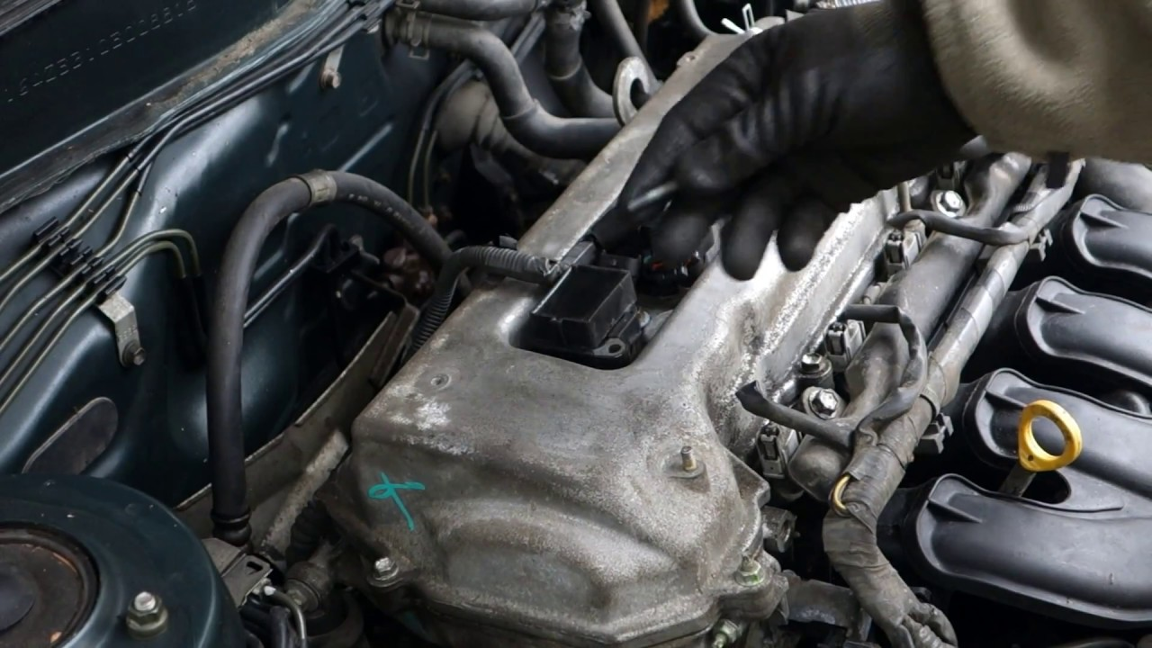 how to repair broken ignition coil easy way toyota camry years 2000 to 2010 [ 1280 x 720 Pixel ]