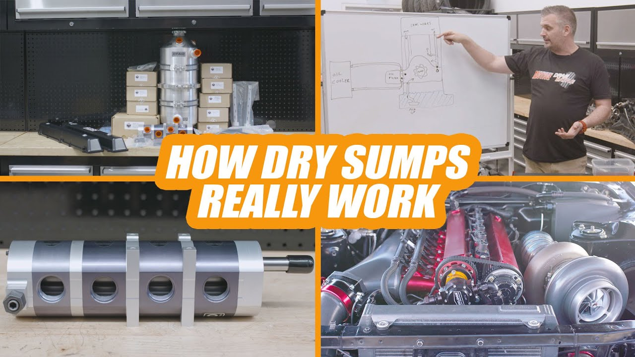 Why Dry Sumps Oil Systems Increase Performance and How They Work