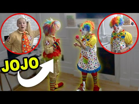 I talked to the creepy clown in our house... (Warning *SCARY*)