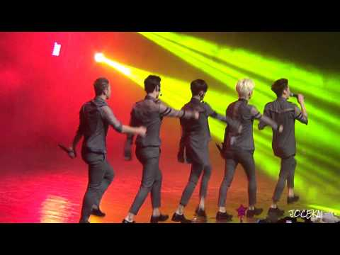 NU'EST - Hey LOVE - Live Chile [fancam HD]