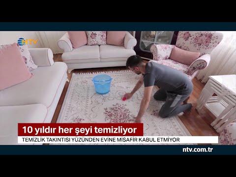 Obsesif temizlik hastası Kadir Ezildi NTV'ye konuştu... (Sosyal medyada fenomen oldu)