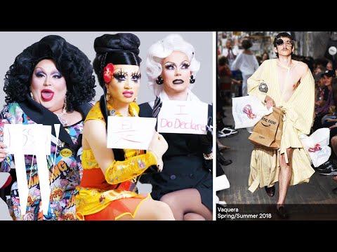 RuPaul's Drag Race Cast Reviews Runway Fashion | W Magazine