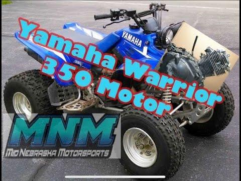 video 1 of 2 yamaha warrior 350 motor rebuilt disassemble case split Yamaha ATV Cooling System