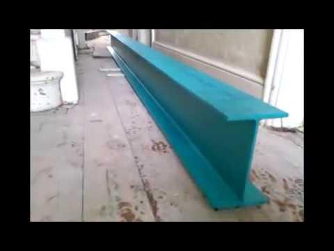 BIG Steel Beam Lifting Job - The Single Handed DIY Method