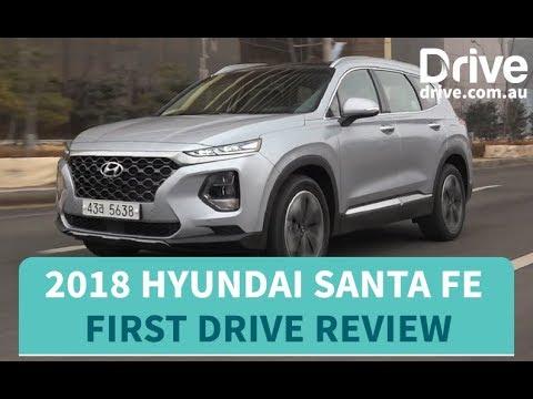 2018 Hyundai Santa Fe First Drive Review   Drive.com.au - Dauer: 3 Minuten, 38 Sekunden