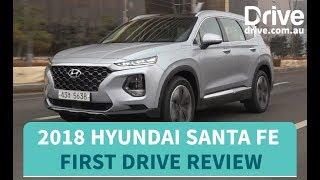 2018 Hyundai Santa Fe First Drive Review   Drive.com.au