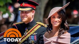 Meghan Markle Appears With Royal Family For Queen's 92nd Birthday | TODAY