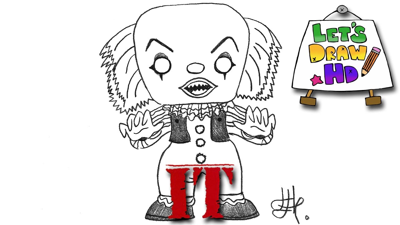 Let's Draw IT's Pennywise the Clown (Funko Pop! Vinyl ...