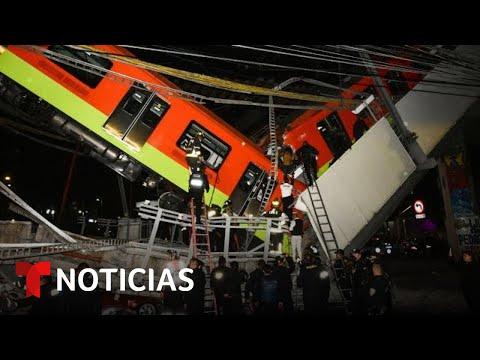 Sobrevivió Al Desplome Del Metro Y Relata El Drama Que Vivió   Noticias Telemundo